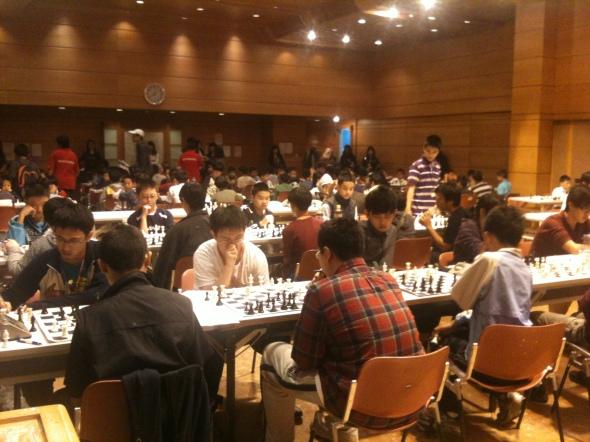 99年中正盃西洋棋校際團體賽第一輪