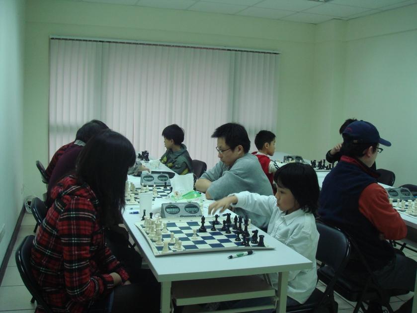 Taiwan Chess Club Jan Tournament 台灣才思西洋棋學院月賽
