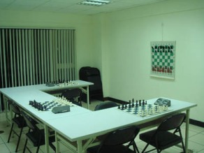 Taiwan chess classroom - small room for 12-16 persons