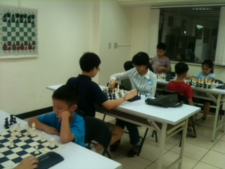 Beginner group : Taiwan Chase Chess Academy cash award monthly in July