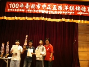 3rd place of Junior high school match