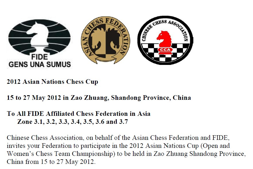 2012 Asian Nations Chess Cup