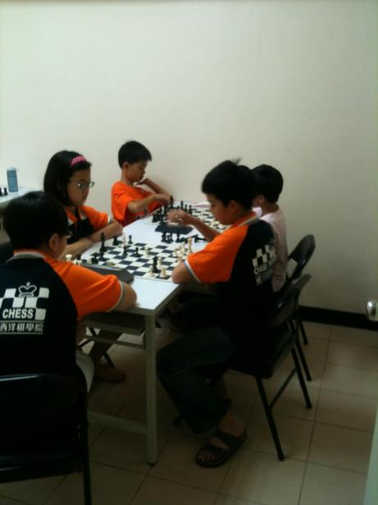 Taiwan chess academy uniform