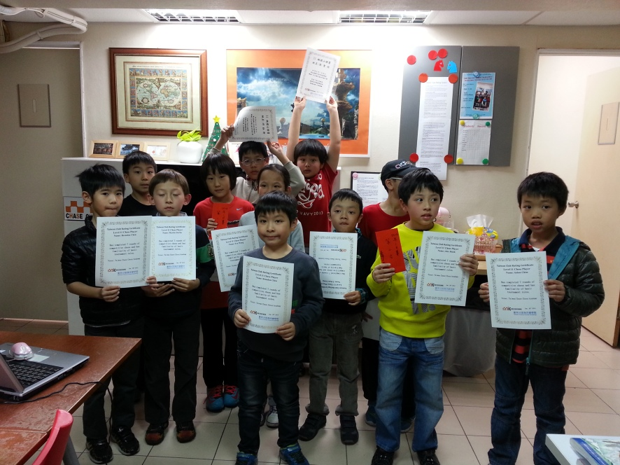 1st Taiwan Club Rating chess tournament , 2014