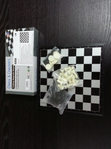 folding maganetic chess