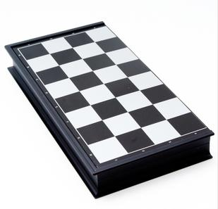 magnetic chess board - folded