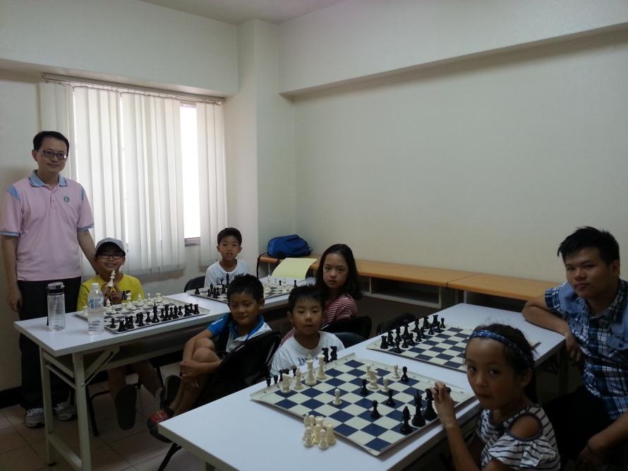 2015 summer chess camp 臺灣才思兒童專業西洋棋夏令營