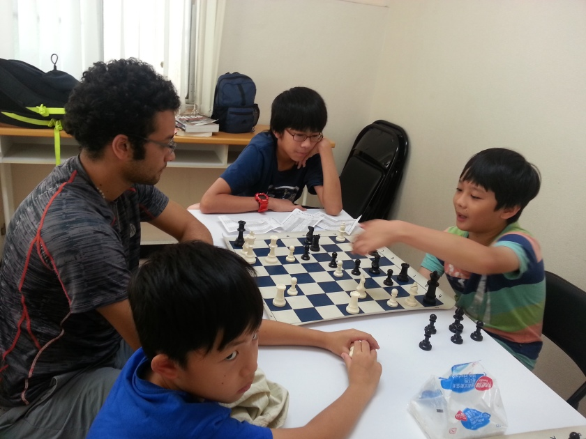 2015 chess camp in English - middle level