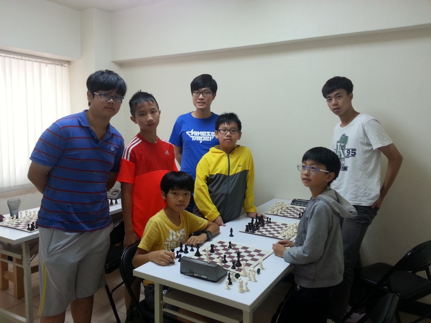 2015 weekly chess camp