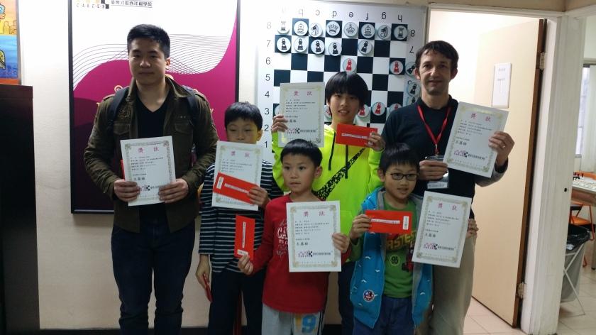 第一屆才思盃慢棋獎金公開賽