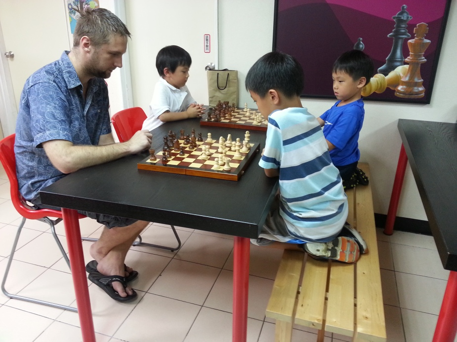 Sunday afternoon chess