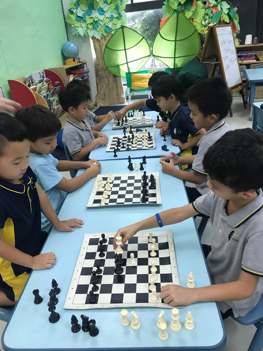 2018 Taipei European School ECA Chess
