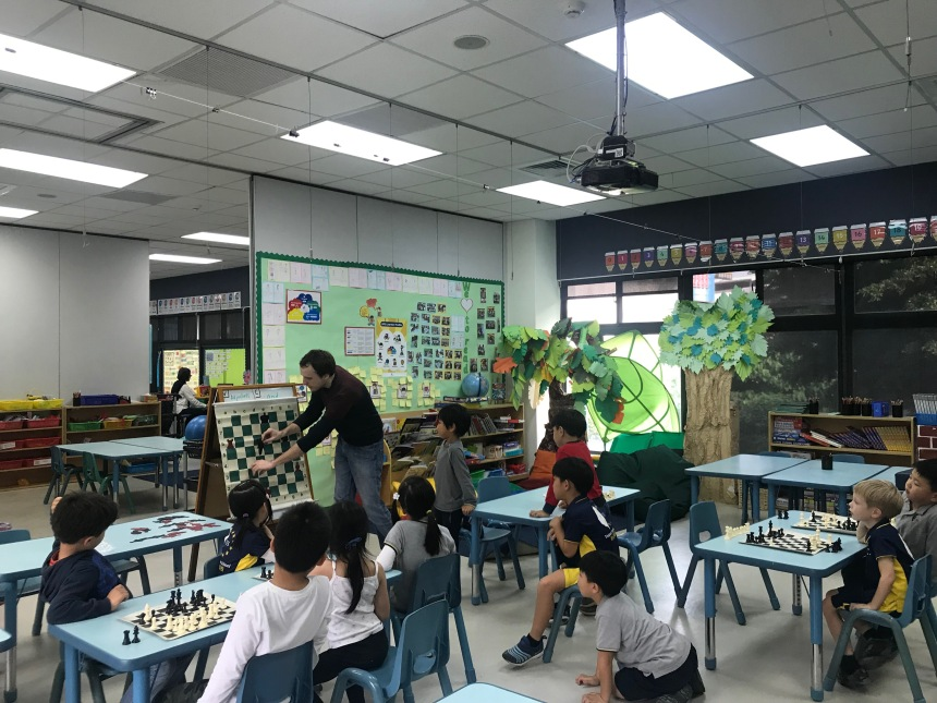 TES classroom